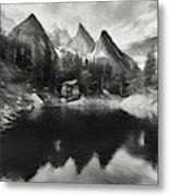 Lake Verde In The Alps IIi Metal Print