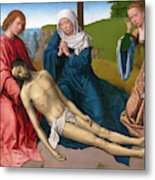 Lamentation Over The Body Of Christ Metal Print