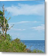 Landscape By The Sound Metal Print