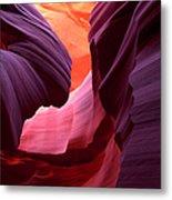 Landscape Image Of Lower Antelope Metal Print
