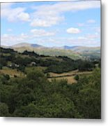 Landscape View From Little Langdale Metal Print