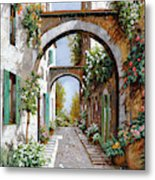 L'arco Dell'angelo Metal Print