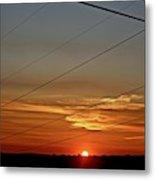 Last Sunset Metal Print