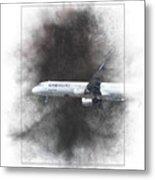 Latam Brasil Airbus A321-211 Painting Metal Print
