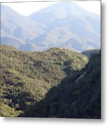 Layers Of A Mt. View Metal Print