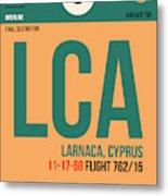 Lca Cyprus Luggage Tag I Metal Print