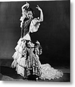 Learning To Dance Metal Print