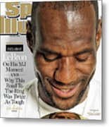 LeBron Exclusive Sports Illustrated Cover Metal Print