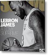 LeBron James: A Love Supreme SLAM Cover Metal Print