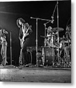 Led Zeppelin At The Forum Metal Print