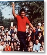 Lee Trevino, 1968 Us Open Sports Illustrated Cover Metal Print