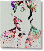 Legendary George Harrison Watercolor III Metal Print