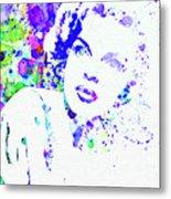 Legendary Judy Garland Watercolor I Metal Print
