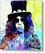 Legendary Slash Watercolor I Metal Print
