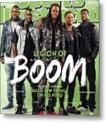 Legion Of Boom, Super Bowl Xlix Preview Sports Illustrated Cover Metal Print