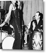 Lena Horne Sings Metal Print