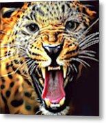 Leopard 2 Metal Print