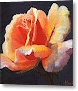 Lesla's Rose Metal Print