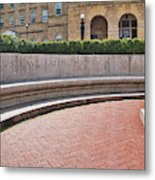 Let Us Have Faith - Madison - Wisconsin Metal Print