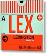 Lex Lexington Luggage Tag I Metal Print