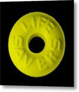 Life Savers Banana Metal Print