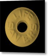 Life Savers Butterscotch Metal Print