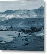 Light And Shadow In West Dakota Metal Print