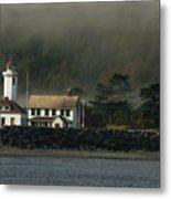 Lighthouse - Port Wilson Metal Print