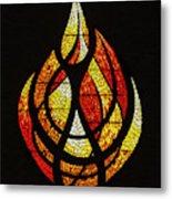 Lighting The Way - Wayland Kaltwasser Flame Metal Print