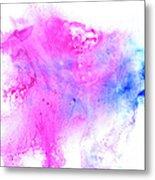 Lilac Blot Metal Print