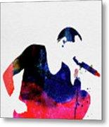 Linkin Park Watercolor Metal Print