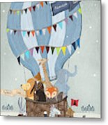 Little Adventure Days Metal Print