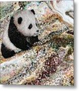 Little Panda2 Metal Print