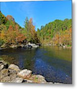 Little River From Little River Gorge Road At Townsend Entrance Metal Print