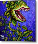 Little Shop Of Horrors Metal Print
