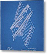 Log Loader Patent Metal Print