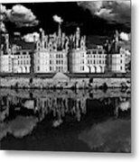 Loire Castle, Chateau De Chambord Metal Print