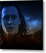 Loki And The Dead World Metal Print