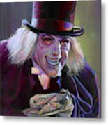 Lon Chaney In London After Midnight Metal Print