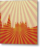 London Pop Art Metal Print