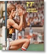 Long Beach State Dwight Stones, 1976 Ncaa Championships Sports Illustrated Cover Metal Print