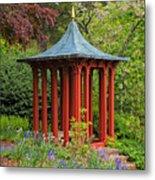 Long Hill Sedgwick Gardens Metal Print