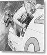 Loretta Turnbull Racing Metal Print