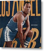 Los Angeles Lakers Elgin Baylor Sports Illustrated Cover Metal Print