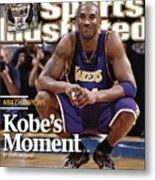 Los Angeles Lakers Kobe Bryant, 2009 Nba Finals Sports Illustrated Cover Metal Print