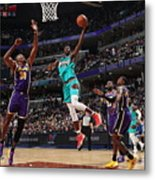Los Angeles Lakers V Memphis Grizzlies Metal Print