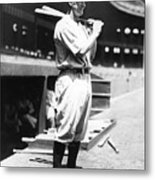 Lou Gehrig Before The Game Metal Print
