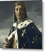 Louis Viii, King Of France Metal Print
