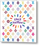 Louis Vuitton Monogram-10 Metal Print