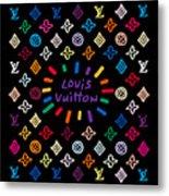 Louis Vuitton Monogram-11 Metal Print